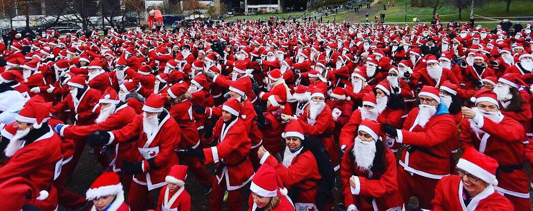 Missa inte årets Santa Run